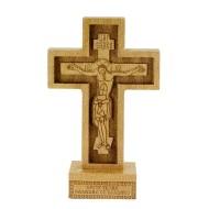 Stoni krst i kutija za tamjan