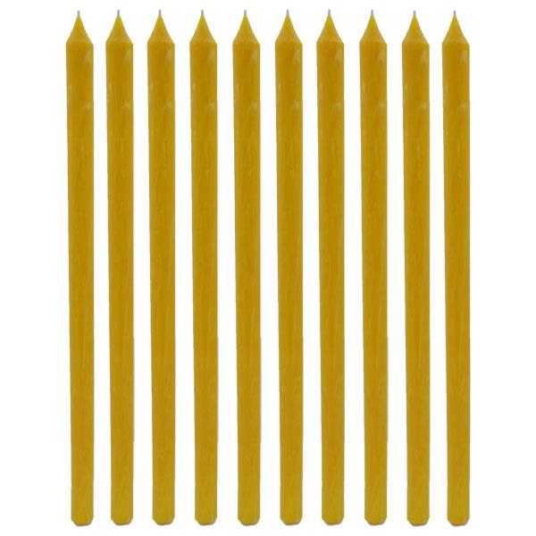 Sveće od pčelinjeg voska 10/1 (1 kg)